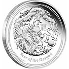 2012 Dragon Kilo Silver Bullion Coin