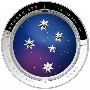 "2012 Southern Cross ""CRUX"" Coin"