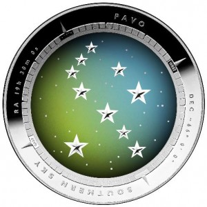2013 Pavo Southern Sky Coin
