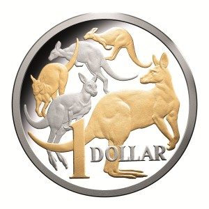 2014 Cupro-Nickel $1 Proof Coin From Royal Australian Mint