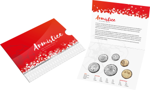 2018 Armistice 6 coin Year Set