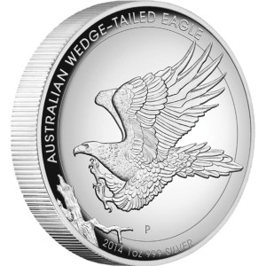 2014  Australian Wedge Tail Eagle Proof