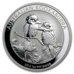 2013 Kookaburra 1oz Silver Bullion Coin from the Perth Mint