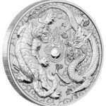 2018 Tiger Dragon 1oz Silver Bullion Coin from the Perth Mint