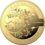 2018 Kangaroo 1oz Gold Proof 25th Anniversary