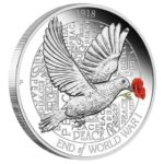 2018 End of WWI Dove 1oz Silver Proof Coin Price: $95.00