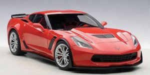 CHEVROLET CORVETTE C7 Z06 in Torch Red 1:18