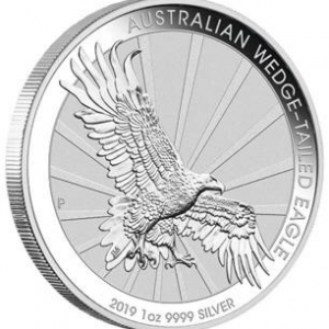 2019 Australian Wedge Tail Eagle 1oz Silver Proof Coin