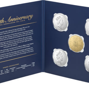 2019 50th Anniversary 50c 5 Coin Set