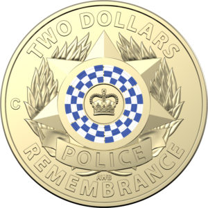 2019 Police Remembrance Day $2 Coin