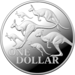 2020 Red Kangaroo 1oz Silver Proof Coinoof