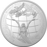 2020 75th Anniversary End of WWII 1oz Silver Proof Coin