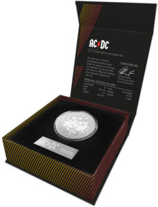 2021  AC / DC Silver 1oz Coin Package