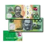 2020 Two Generation $100 Australian Notes Set
