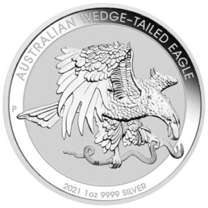 2021 Australian Wedge Tail Eagle 1oz Silver Bullion Coin
