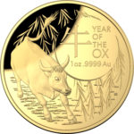 2021 Year of the OX 1oz Gold Proof Coin