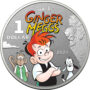 2021 Ginger Meggs Centenary $1 Colored Silver Coins