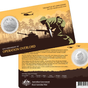 2021 50th Anniversary of the Battle of Long Khanh 50c Coin