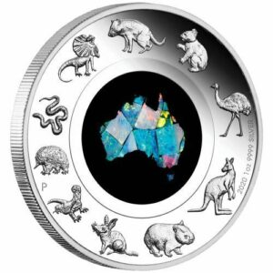 2020 Great Southern Land Opal 1oz Silver Coin