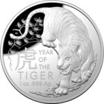 2022 Year of the Tiger 1oz Silver Proof Coin