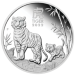 2022 Year of Tiger 1oz Silver Proof Coin